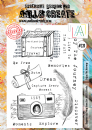 AALL and Create Clear A4 Stamp Set #321 - Enjoy The Journey by Tracy Evans